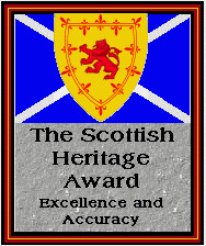 [Scottish Heritage Award, 1st place (Hutchinson society), 1997]