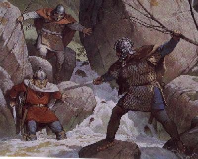 [Britons fight Saxons]