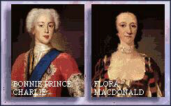 Prince Charles and Flora MacDonald