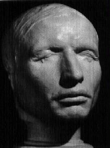 [William Hare's lifemask, made in prison]