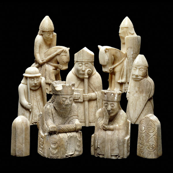 [isle of lewis Norse chess set]