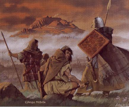 Picts eyeing the Scots