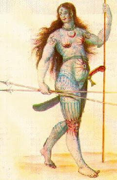 [Pictish woman]