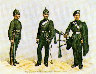 Scottish Regimental Soldiers (later)