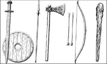 [Viking weapons]